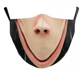 HOROR ijesztő arcmaszk - 100% poliészter
