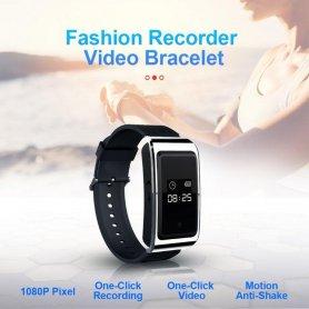 Špionážna kamera v digitálnych hodinkách + video + foto + diktafón + 16GB pamäť