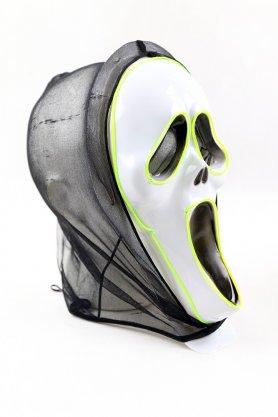 Máscaras de Halloween con LEDs - Scream