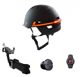 Smart helmet Set - Livall BH51M bike helmet bluetooth + multi-function extension with 5000mAh power bank + nano speed sensor