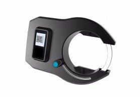 Blocaj digital biciclete GPS + panou solar