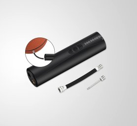 Pompă inteligentă electrică pentru bile cu lanternă LED + 2 ace gonflabile