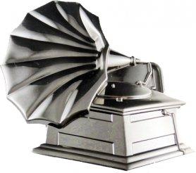 Грамофон - закопчалка