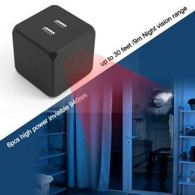 追加のIRナイトビジョン非常に強力-スパイカメラ用の6xIR LEDライト