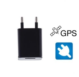 GPS locator with sound sensor hidden in the charger