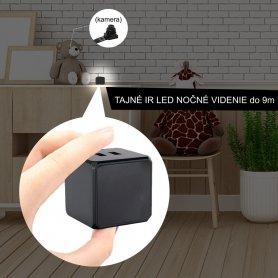 Vision nocturne IR supplémentaire Extra puissante - 6x lumières LED IR pour caméras espions