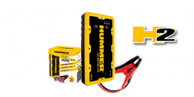 Portable jump starter + external battery Hummer H2 12000mAh battery for engines up to 6L petrol / 4L diesel