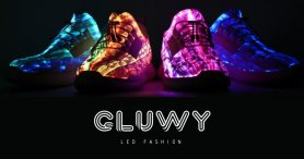 LED multicolor glowing sneakers - GLUWY Star