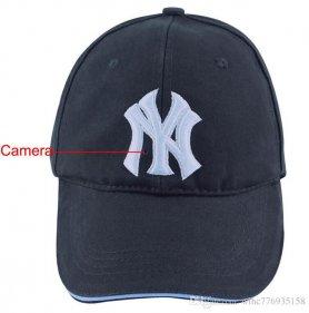Kém kamera sapka FULL HD kamerával + WiFi (vezérlés alkalmazáson keresztül okostelefonon)