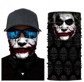 JOKERバンダナ-顔や頭に多機能のスカーフ