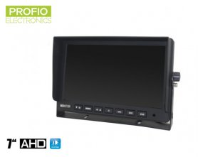 "AHD 7 ""LCD monitor do auta + 3 AV vstupy"