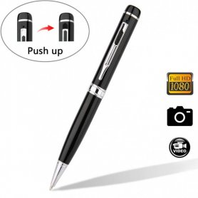 Ukryta kamera Pen Spy z obsługą FULL HD + micro SD do 32 GB