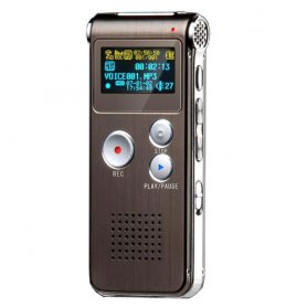 Digital dictaphone with 4GB memory