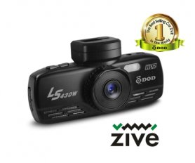 DOD LS430W car camera with GPS