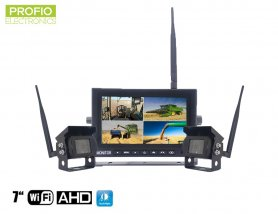 "Telecamera di backup wireless con monitor AHD WiFi SET - 1x monitor AHD da 7 ""+ 2x videocamera HD"