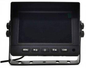 กล้องสำรองพร้อมจอมอนิเตอร์ AHD/CVBS HD set - จอมอนิเตอร์รถยนต์ Hybrid 2CH ขนาด 5 นิ้ว + กล้อง HD 1 ตัว
