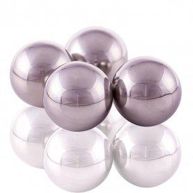 Hielo bolas de acero inoxidable en bebidas