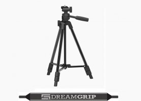 Ultra-light tripod for DREAM GRIP set - height 123 cm/weight 600 g