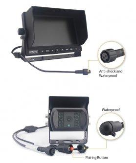 "Couvací kamera s monitorem bezdrátovým AHD Wifi SET 1x 7 ""AHD monitor + 1x HD kamera"
