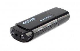 USB-Laufwerkskamera mit FULL HD + IR-LED + Bewegungserkennung versteckt
