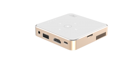 Mini projector - the smallest pocket LED projector with USB/HDMI