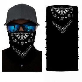 Sciarpa multifunzionale per viso o testa - BLACK COWBOY