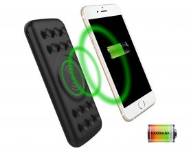 External charger with wireless charging function - 10000 mAh