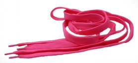 Pink neon laces