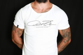 Men's T-shirt GDR Street Elegance - White