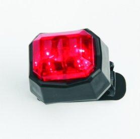 Kerékpárlámpa - RED figyelmeztető lámpa