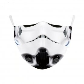 Mască de protecție STORMTROOPER - 100% poliester