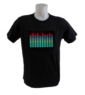 Camiseta de LED - T Equalizer