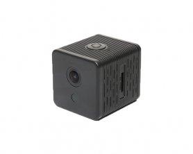Wifi Mini FULL HD IP kamera mágneses forgatható tartóval + extra hosszú akkumulátor-élettartam