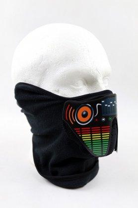 Máscara LED Ecualizador sensible al sonido - Estilo DJ