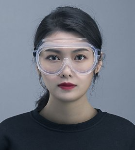 Safety googles - protective and transparent