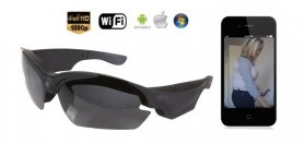 Wifi Sonnenbrille Kamera FULL HD mit UV-Filter