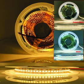 LED light strip 5M CCT with adjustable white light temperature 2700-6500K