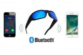 Occhiali sportivi vivavoce bluetooth UV con altoparlanti