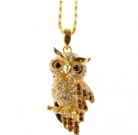 Luxury USB Key - Owl