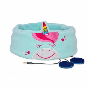 Baby headband with headphones - Unicorn