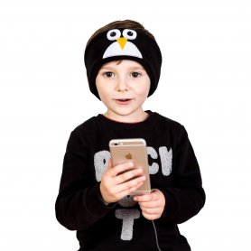 Gyerek fejhallgató - pingvin