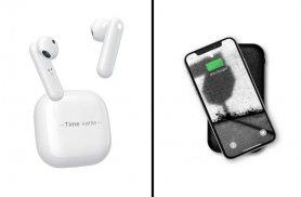 Penerjemah earbud Headphone Timekettle M2- (93 bahasa dan aksen) + mendengarkan musik dan panggilan suara
