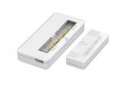 LED se aprinde în dulap 2 buc pachet + senzor magnetic + baterie Li-on