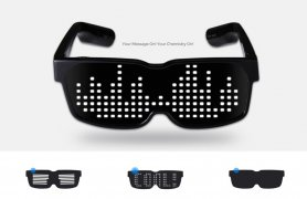 Programmable glasses via mobile Chemion