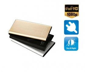 Power bank camera 5000mAh - Ultra thin + FULL HD + IR LED