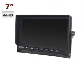 "AHD 7"" LCD monitor do auta + 3 AV vstupy"