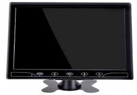 """10 """"Smartphone mirroring monitor WiFi + VGA + HDMI at AV input para sa 2 camera"""