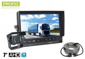 "AHD parking set 7"" LCD monitor + camera with 18 IR LEDs"