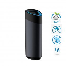 360° Ultrasonic humidifier with ionizer + USB charger