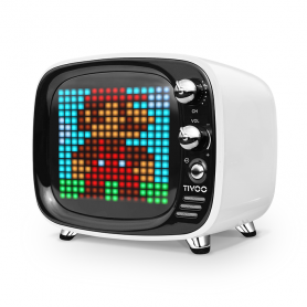 Altoparlante Divoom TIVOO 256 RGB LED 6W - supporto Bluetooth 5.0 + scheda TF e audio AUX